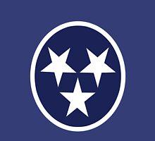 Tennessee state flag grunge nashville love geek funny nerd Unisex T-Shirt