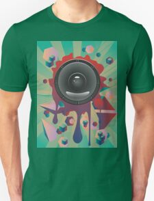 Abstract Audio Speaker 2 T-Shirt