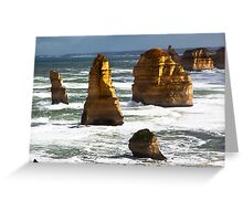 12 Apostles - Great Ocean Rd Victoria Greeting Card