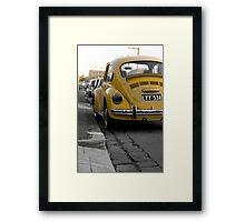 Bumble beetle Framed Print