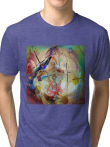 Music Girl Tri-blend T-Shirt