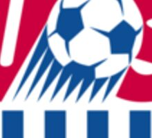 US Soccer Sticker