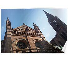 Strasbourg Cathedral de Notre-Dame  Poster