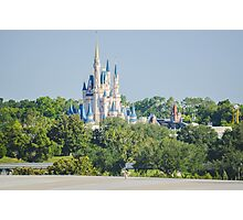 A castle in the forest Photographic Print