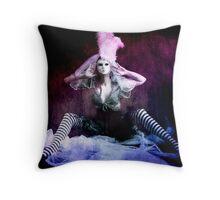 Venetian Lure Throw Pillow