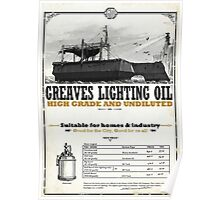 Greaves Lighting Oil Dishonored Poster Poster