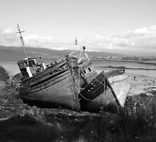 Old Fishing Boats at Salen by YorkshireMonkey