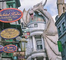 Diagon Alley by seira77