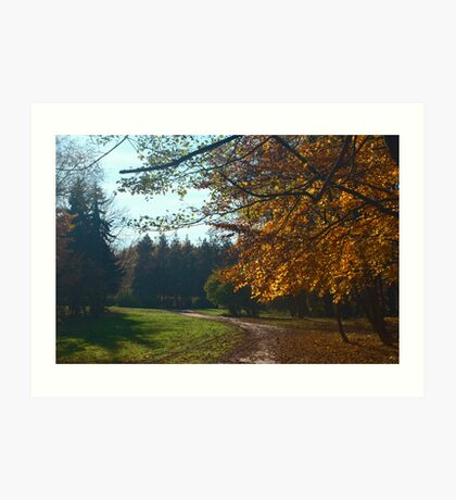Parkway In September Art Print