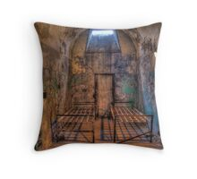 Rusty, Crusty Throw Pillow
