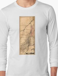Provinces of New York and New Jersey (1768) Long Sleeve T-Shirt