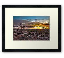 Northern Glow Framed Print