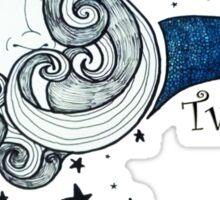 Caught In Curldom - 2013 Sticker