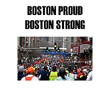 Boston Marathon Boston Strong Photographic Print