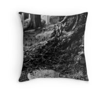 we all return to the earth. Throw Pillow