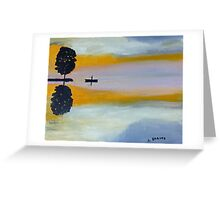 Alone  150725 Greeting Card