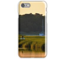 Morning Colors | Flanders Bay, New York iPhone Case/Skin
