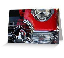 """ Close Up and Personal "" Greeting Card"