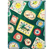 Assorted Clock iPad Case/Skin