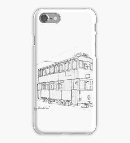 Hong Kong Double Decks Tram iPhone Case/Skin