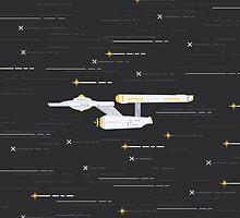 Star Trek Enterprise by Marko Stupić