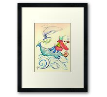 The Genius and the lamp Framed Print