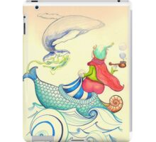 The Genius and the lamp iPad Case/Skin