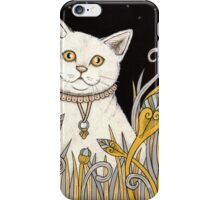Chat Blanc iPhone Case/Skin