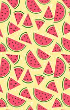 Watermelon slices pattern by mrhighsky