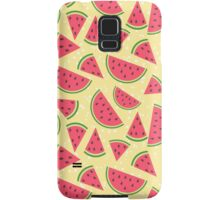 Watermelon slices pattern Samsung Galaxy Case/Skin