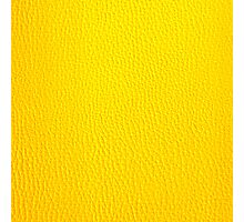 Yellow Leather Photographic Print