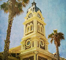 Town Hall Tower at Glenelg by Wendi Donaldson Laird