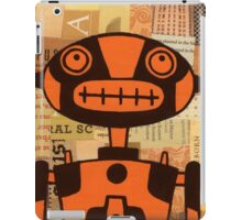 Orange Robot iPad Case/Skin