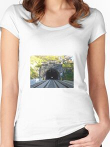 Railway Women's Fitted Scoop T-Shirt