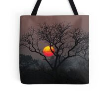Sunset At Londolozi Tote Bag