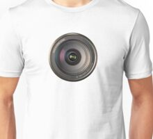 72mm canon camera len Unisex T-Shirt