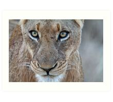 Look Into My Eyes.... You Are Getting Sleepy... Art Print