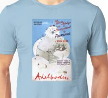 Switzerland Adelboden Vintage Travel Poster Unisex T-Shirt