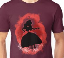 Super Smash Bros. Red Peach Silhouette Unisex T-Shirt