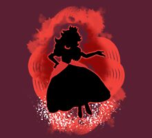 Super Smash Bros. Red Peach Silhouette Unisex T-Shirt