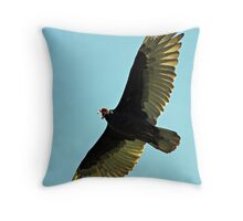 Looking & Living for Death  Throw Pillow