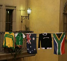 The Rugby World cup , who do you support? by Mark Braham