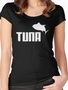 Tuna Ware Bluefin Fishing Sushi Funny Women's Fitted Scoop T-Shirt