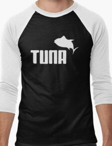 Tuna Ware Bluefin Fishing Sushi Funny Men's Baseball ¾ T-Shirt