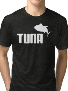 Tuna Ware Bluefin Fishing Sushi Funny Tri-blend T-Shirt