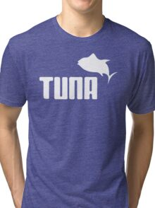 Tuna Ware Bluefin Fishing Sushi Funny Tri-blend T-Shirt