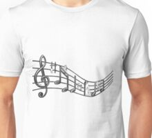 The music borrowers (view full screen) Unisex T-Shirt