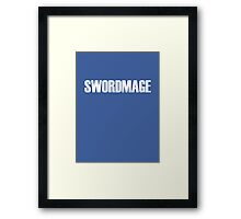 Swordmage Framed Print