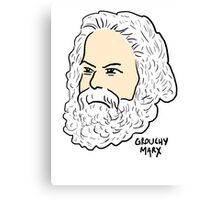 Grouchy Marx Canvas Print