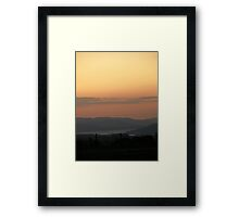 Orange Supreme - Donegal Ireland  Framed Print